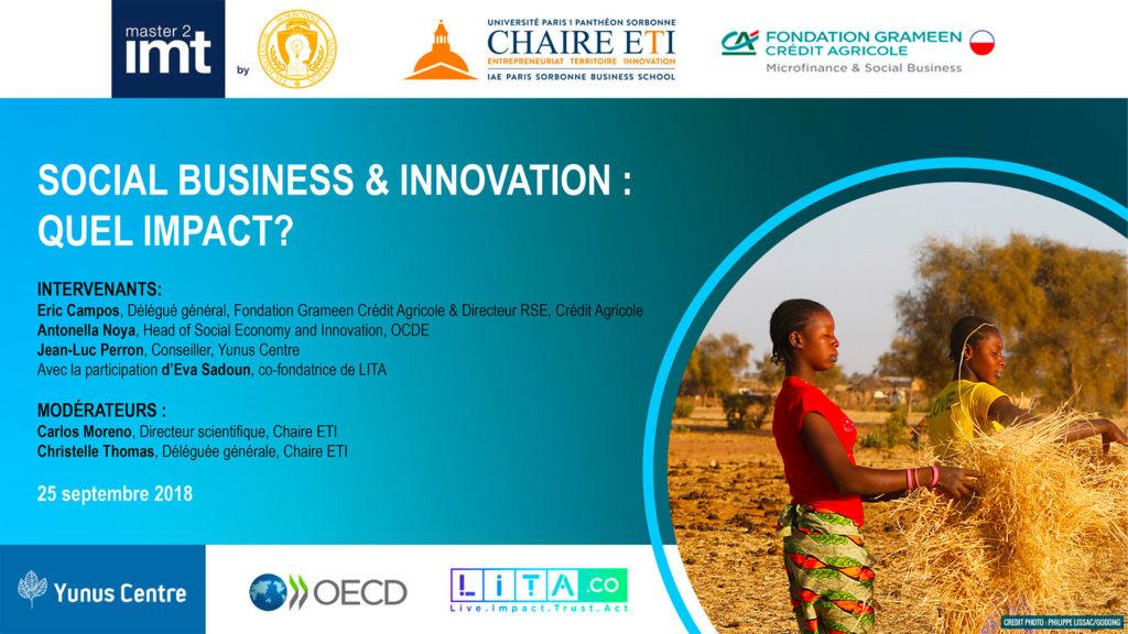 25 septembre 2018 | Social Business & Innovation