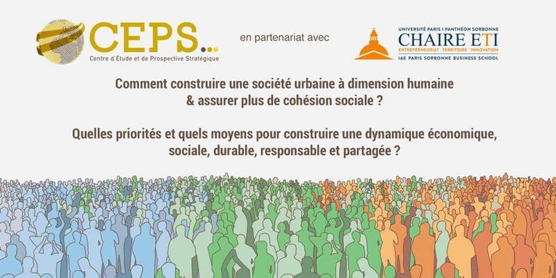 14 JANVIER | Séminaire:Ville de Demain / Cohésion Sociale