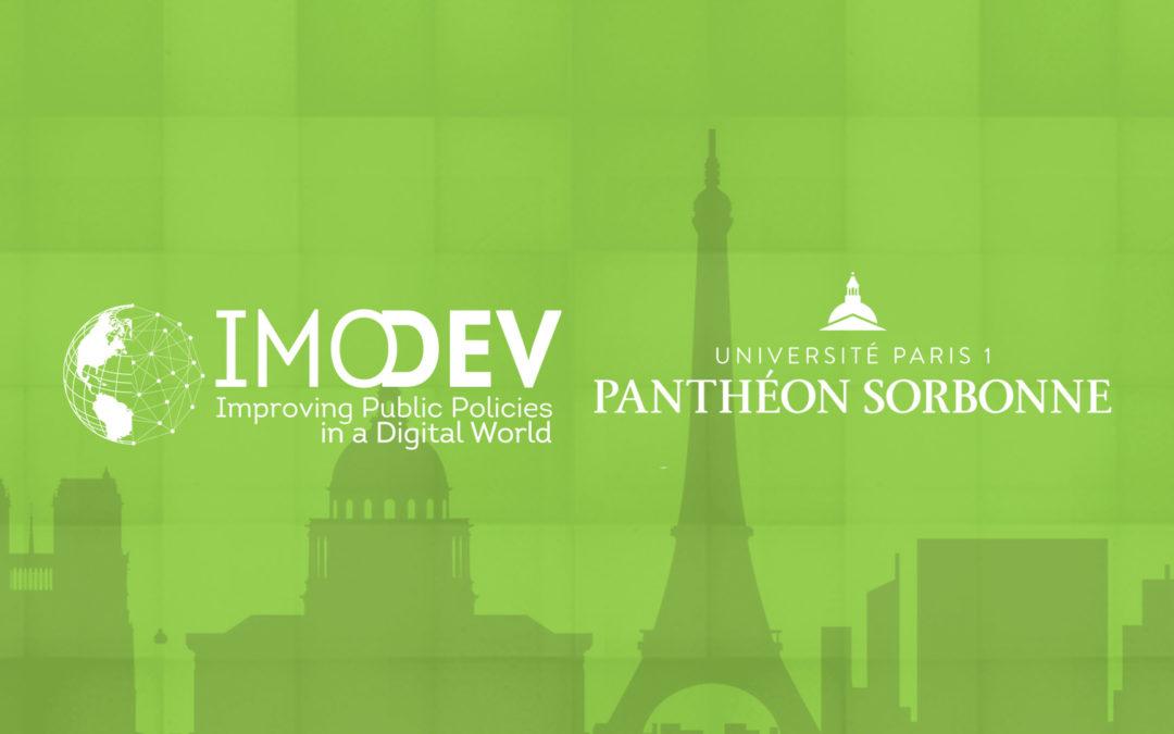 13 et 14 novembre 2018   Forum IMODEV