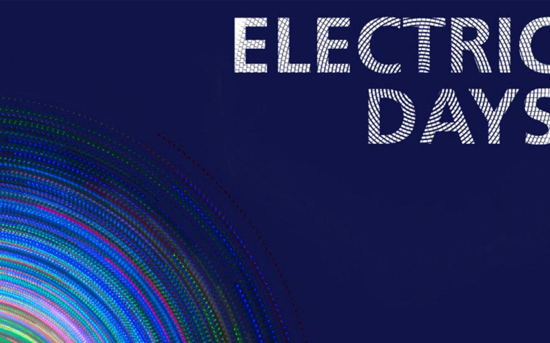 9, 10 et 11 octobre 2018   Electrics Days
