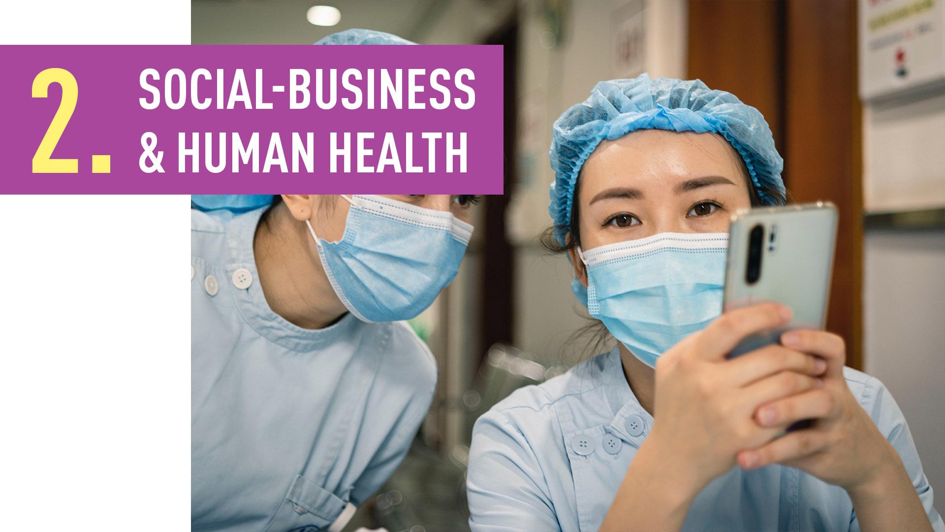 SOCIAL-BUSINESS & HUMAN HEALTH