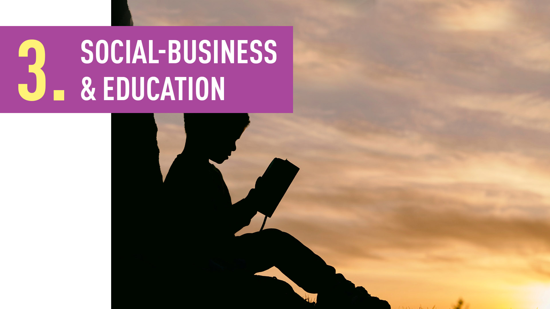 SOCIAL-BUSINESS & EDUCATION