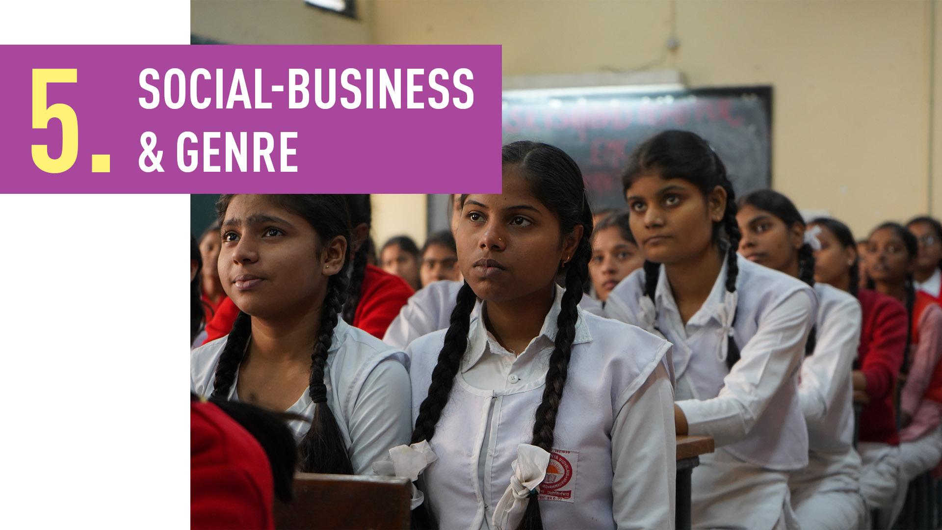 SOCIAL-BUSINESS & GENRE