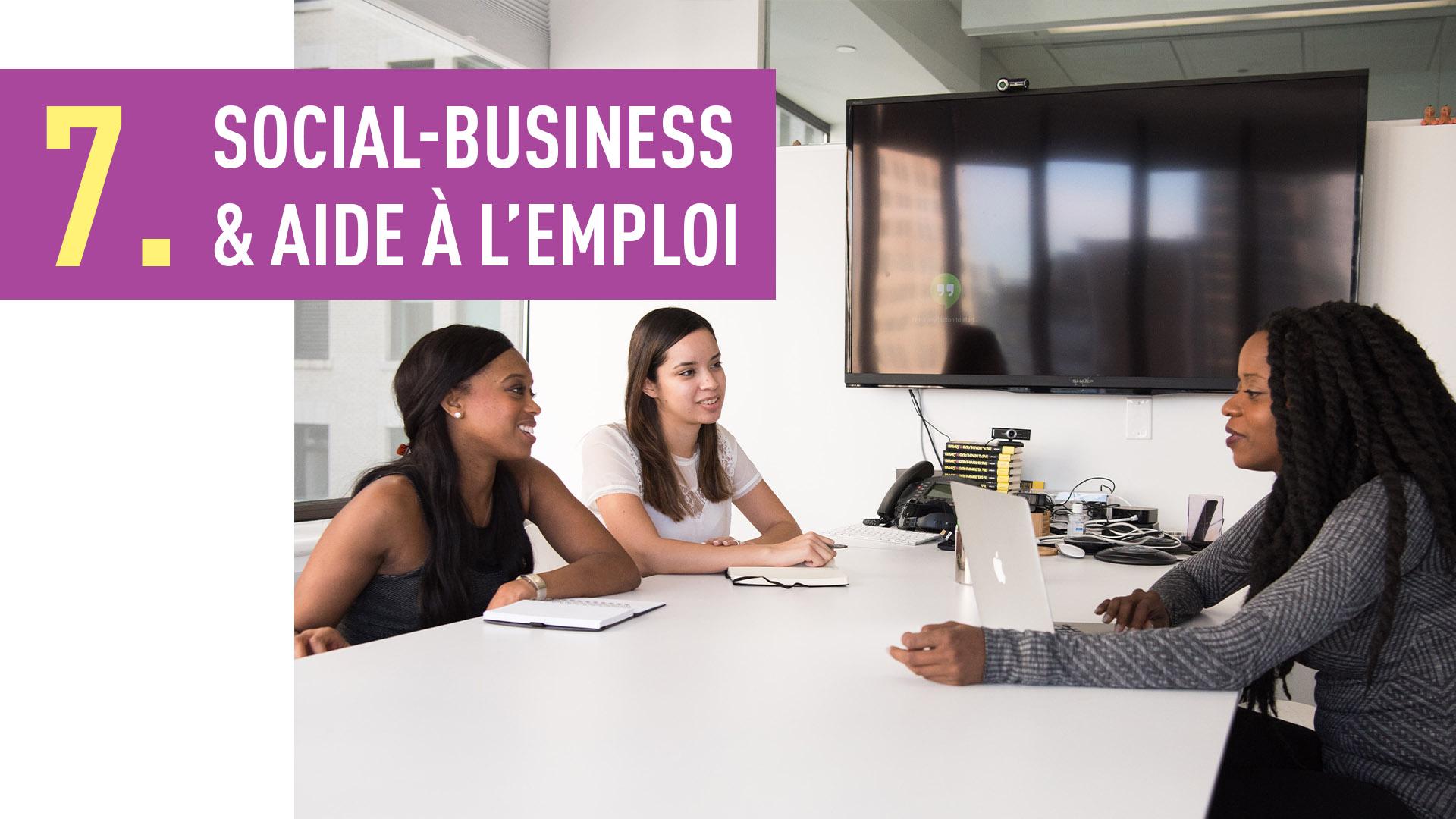 SOCIAL-BUSINESS & AIDE À L'EMPLOI